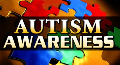 Autism awareness banner. Applied behavior analysis is one of the type of therapies offered to children on the autism spectrum